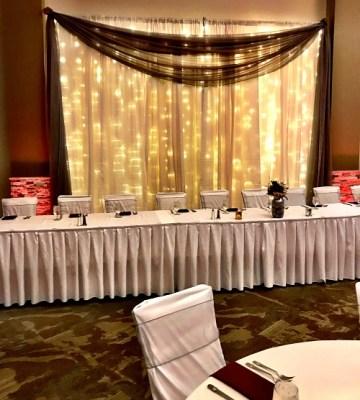 Johnson Wedding Head Table