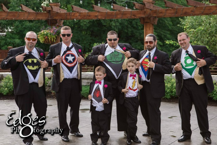 Quirk Wedding Party