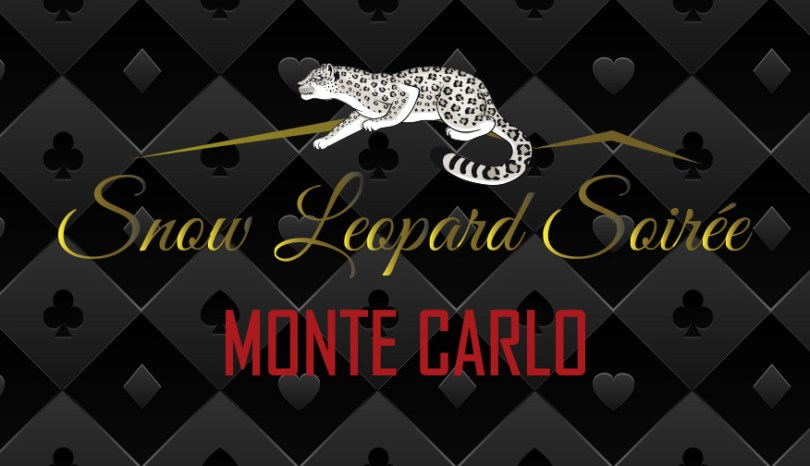 Snow Leopard Soiree: Monte Carlo Syracuse Zoo RGZ CATZ