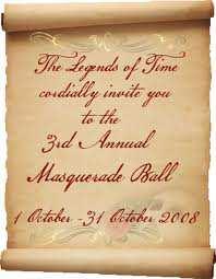 The Masquerade Ball Invitation