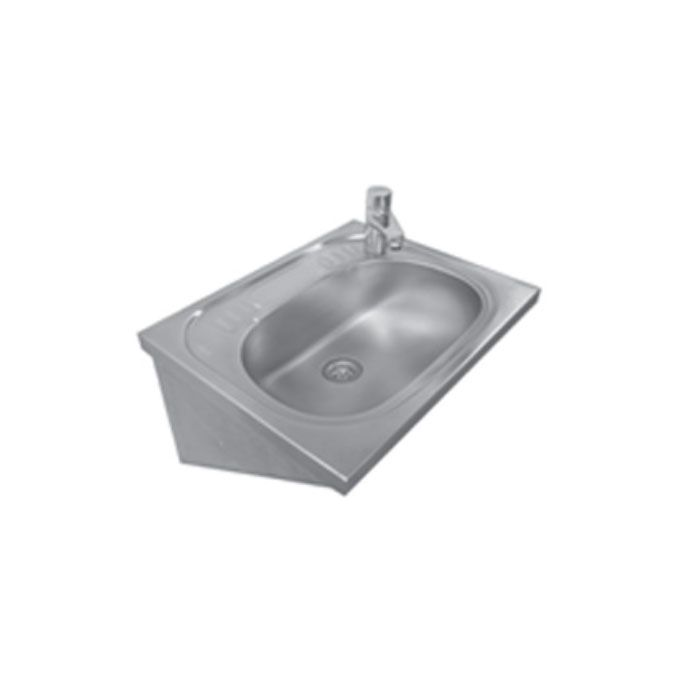 stainless steel hand wash basin with bracket
