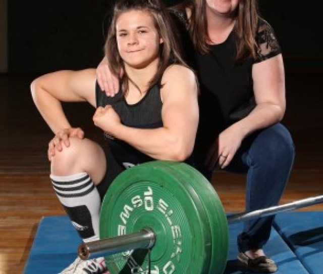 The School Girl Has Been Weightlifting Since She Was A  Year Old