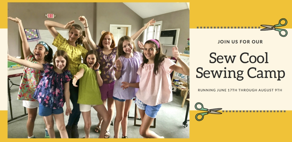 Sew Cool Summer Camp 2019