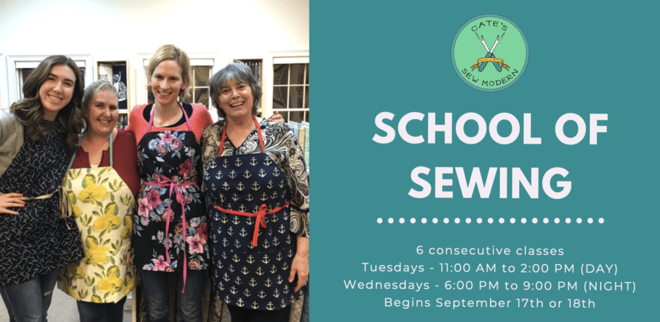 School of Sewing Fall 2019