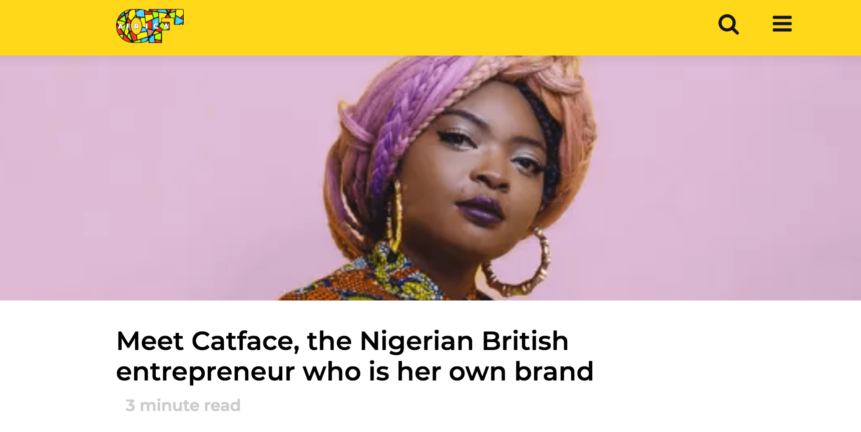 mariette immaculate - of africa magazine interview