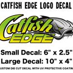 Catfish Edge Logo Decal