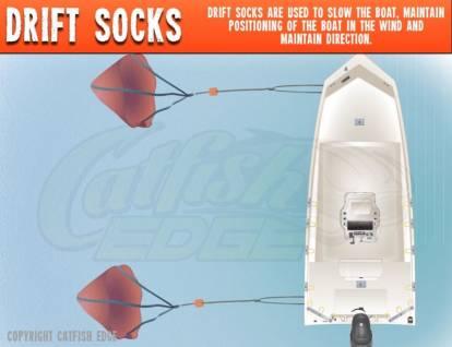Drift Socks For Drift Fishing
