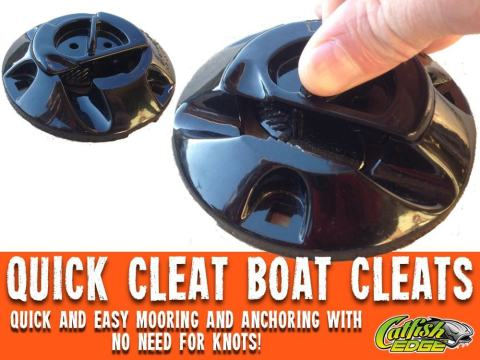 Quick Cleat Boat Cleats For Your Catfish Boat