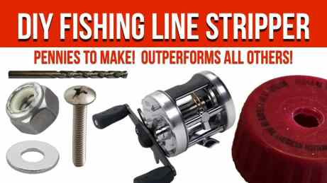 DIY Fishing Line Stripping Tool