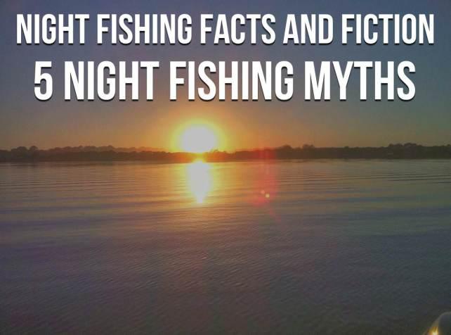 Night Fishing Catfish Facts Fiction