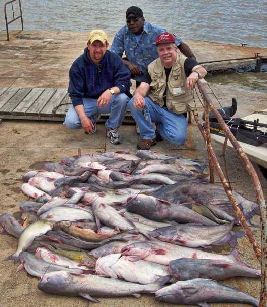 Spring Blue Catfishing
