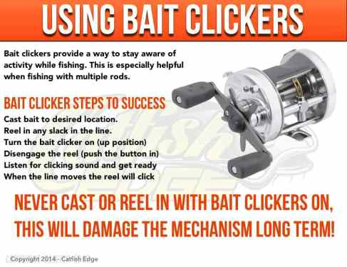 Using Bait Clickers For Catfish