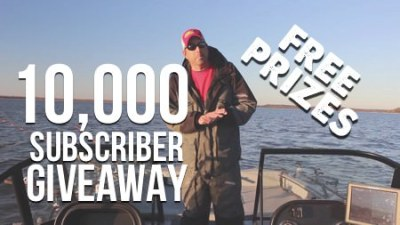 Catfish Edge Youtube Channel 10K Subscriber Giveaway Cover