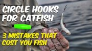 Circle Hooks For Catfish: 3 Mistakes That Cost You Fish