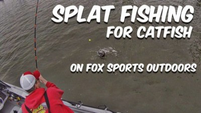 Splat Fishing Catfish Fox Sports Outdoors Barry Stokes
