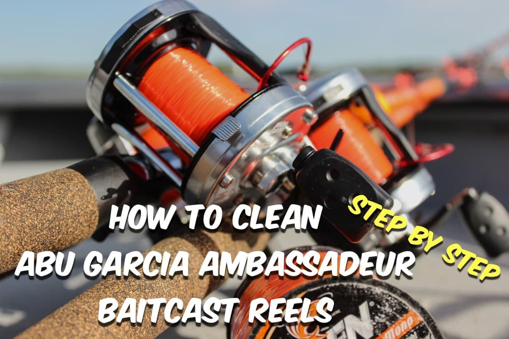 How To Clean Abu Garcia Ambadeur Fishing Reels Abu Reel Schematics on