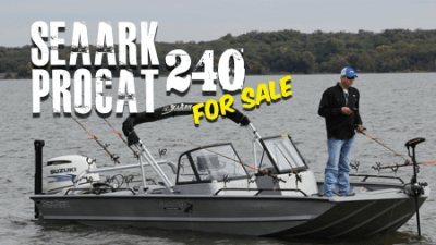 2016 SeaArk ProCat 240 For Sale