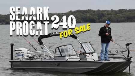 2016 SeaArk ProCat 240 For Sale