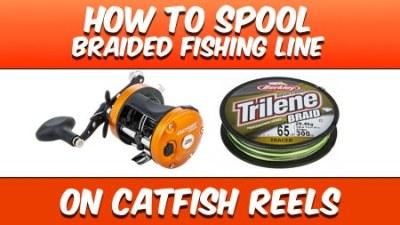 How To Spool Braided Fishing Line 450
