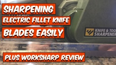 Work Sharp Knife and Tool Sharpener Serrated Blades