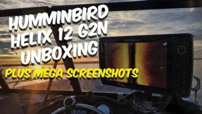 Humminbird Helix 12 G2N Unboxing (and Screenshots)