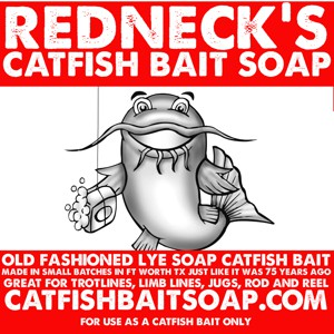 Redneck's Catfish Bait Soap