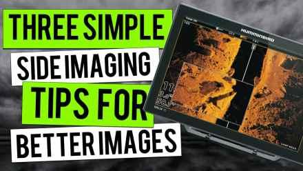 side imaging fish finder tips