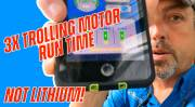 3X Trolling Motor Run Time (INSANE New Technology)