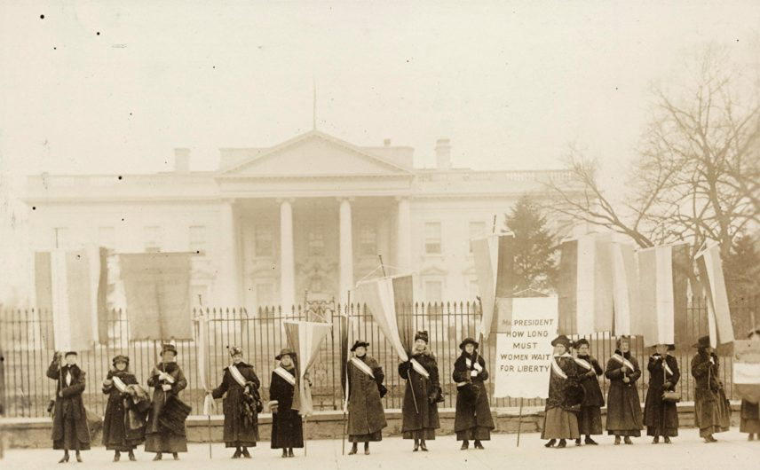 2017 Homage to the Original 1917 Suffragists and a Call To Action for Modern Equality Warriors