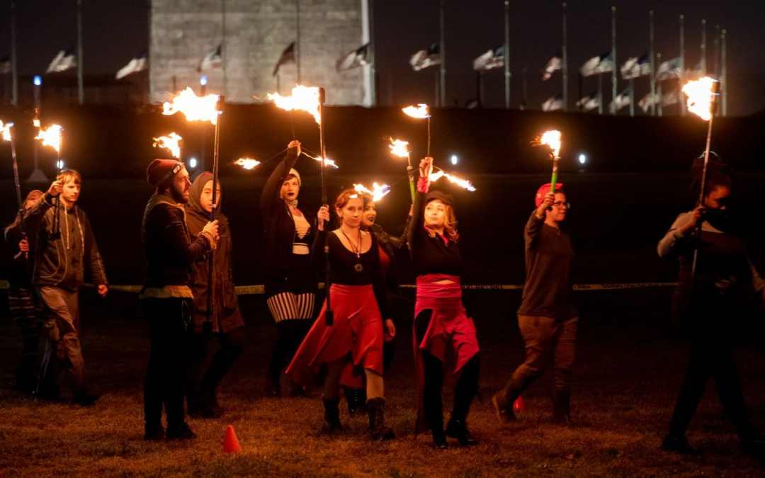 A miniature Burning Man is coming to the National Mall, minus the alcohol and drugs