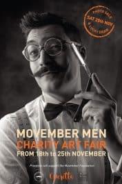 Movember Man promo poster