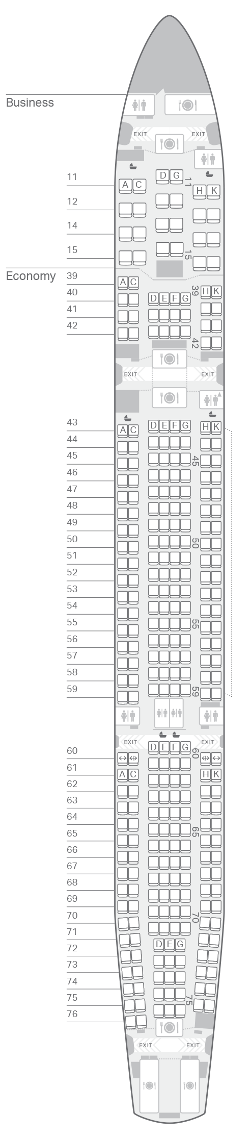 A300 300 33p Seating Plan