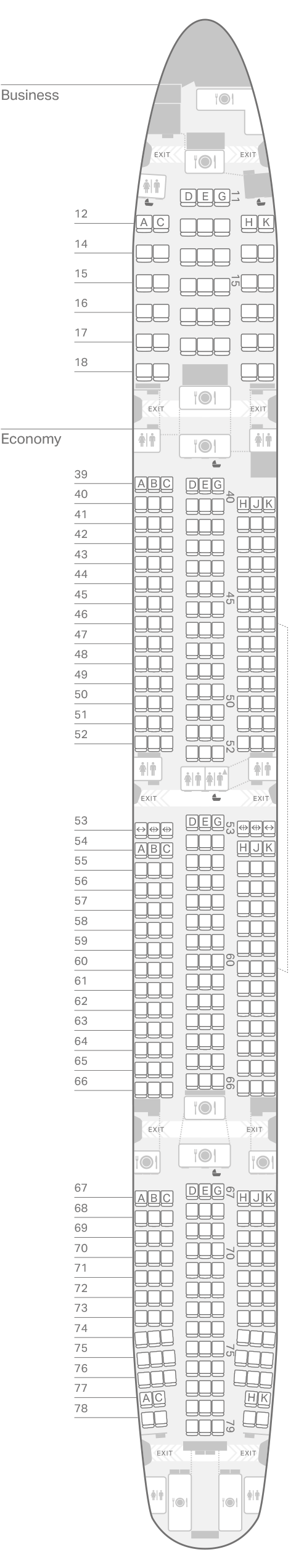 Cathay Pacific Seating Map 77w Www Microfinanceindia Org