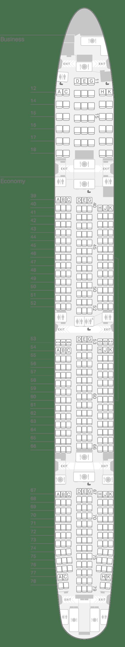 777 300 73z Seating Plan