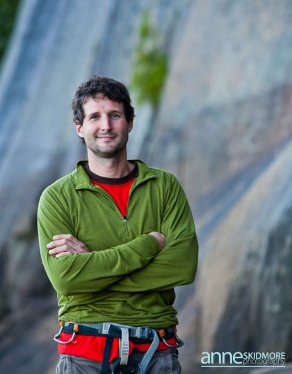 New Hampshire climbing guide Bayard Russell.