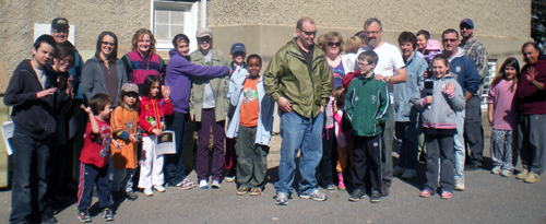 Get to know your neighbours at the annual community clean-up.