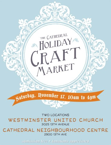 Holiday Craft Market November 17