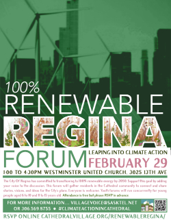 Renewable Regina Colour Poster Link