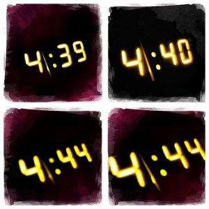 watching the clock doesn't support good sleep