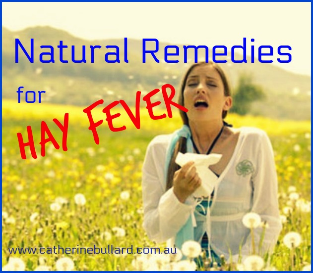 natural cures for hay fever