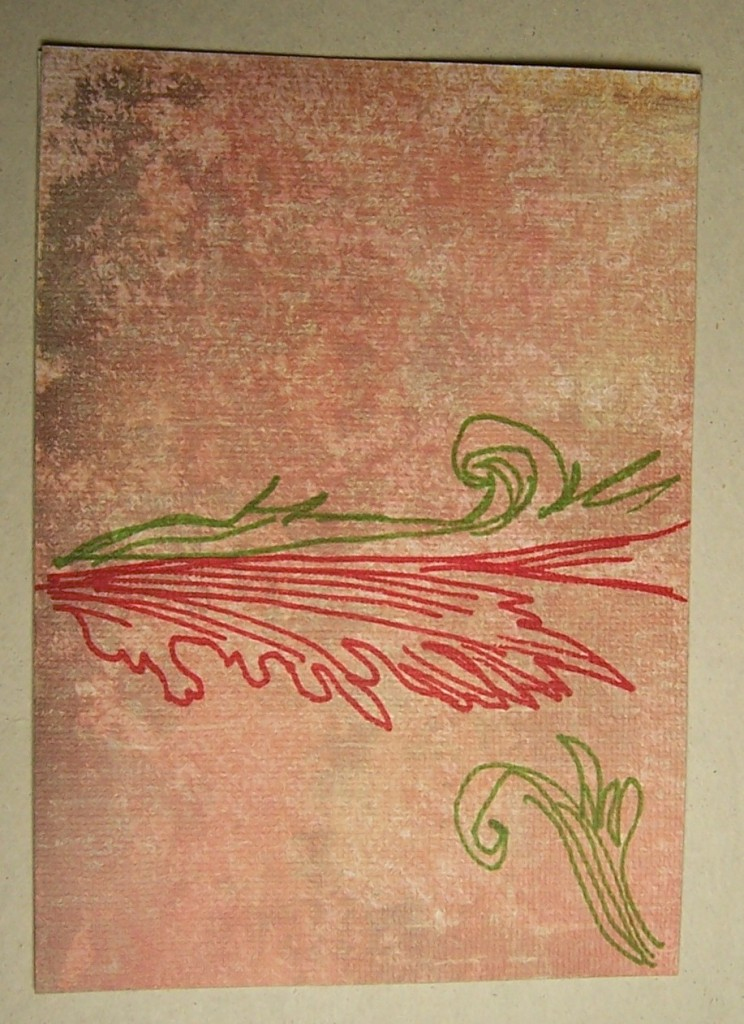 Postcard Real Art Tulip Katers Art And Writing