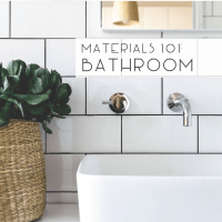 Materials 101: Bathroom Flooring