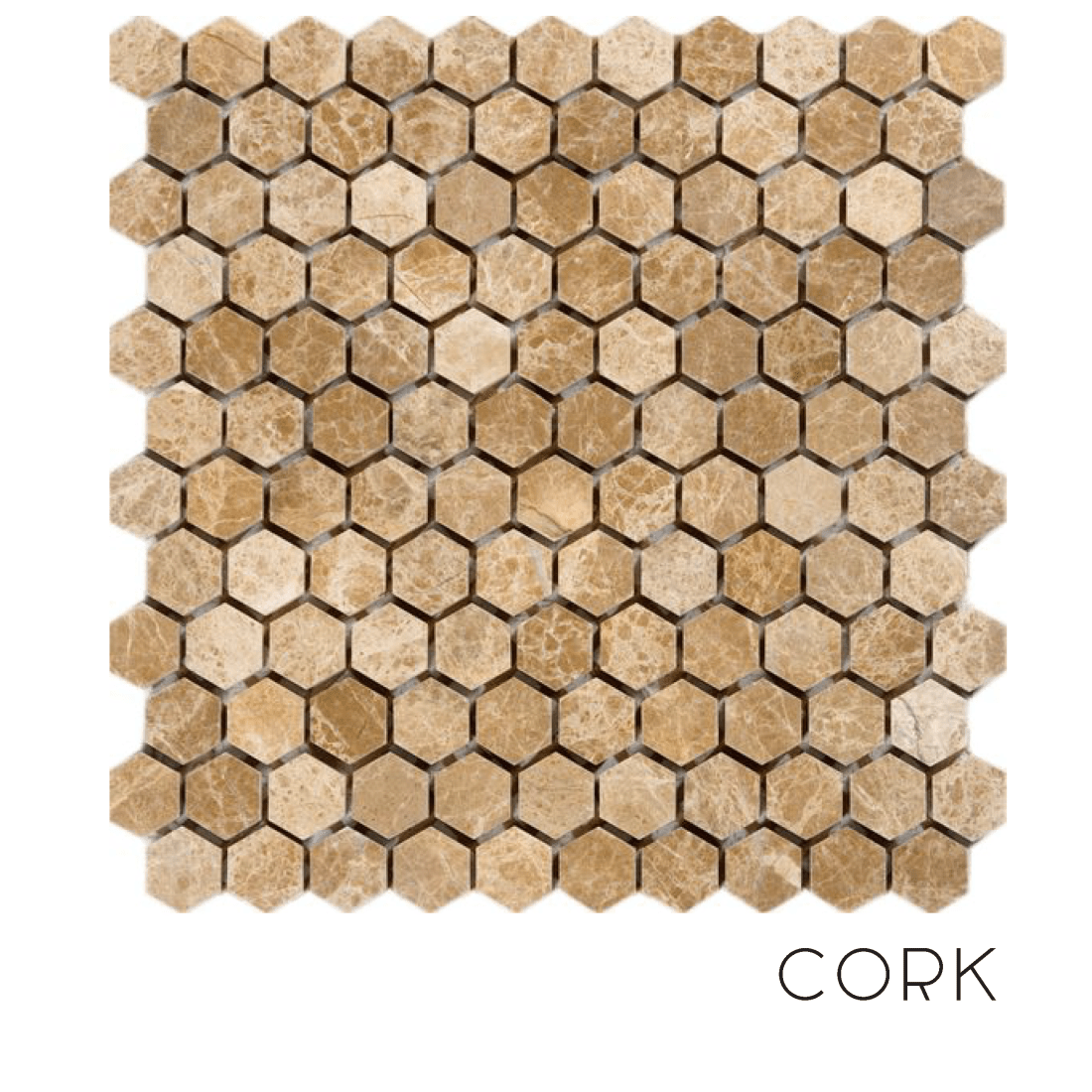 When to use a cork surface in a bathroom.