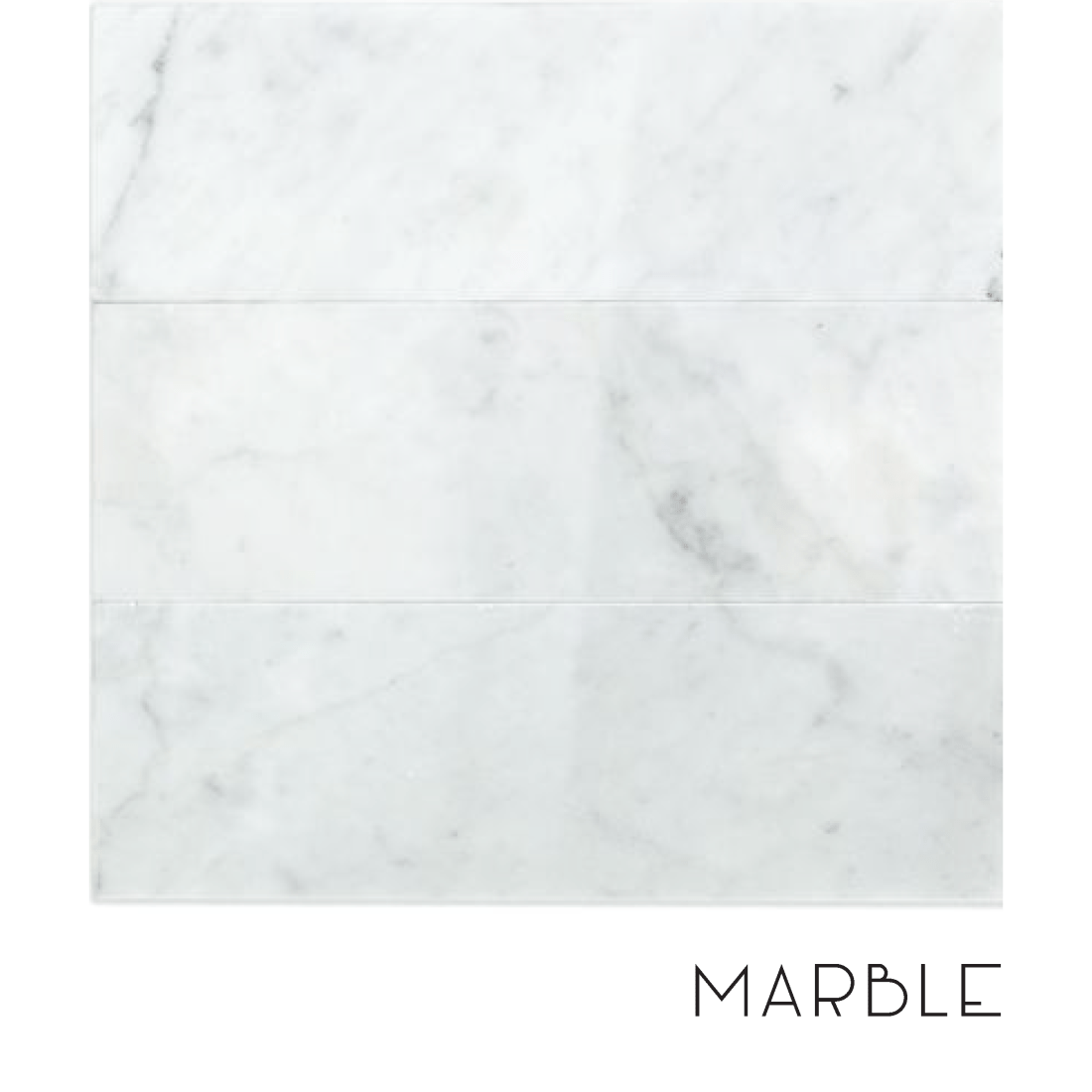 When to use marble in a bathroom.