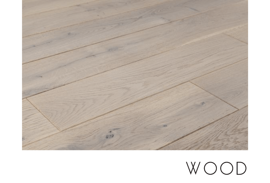 When to use wood flooring in a bathroom.