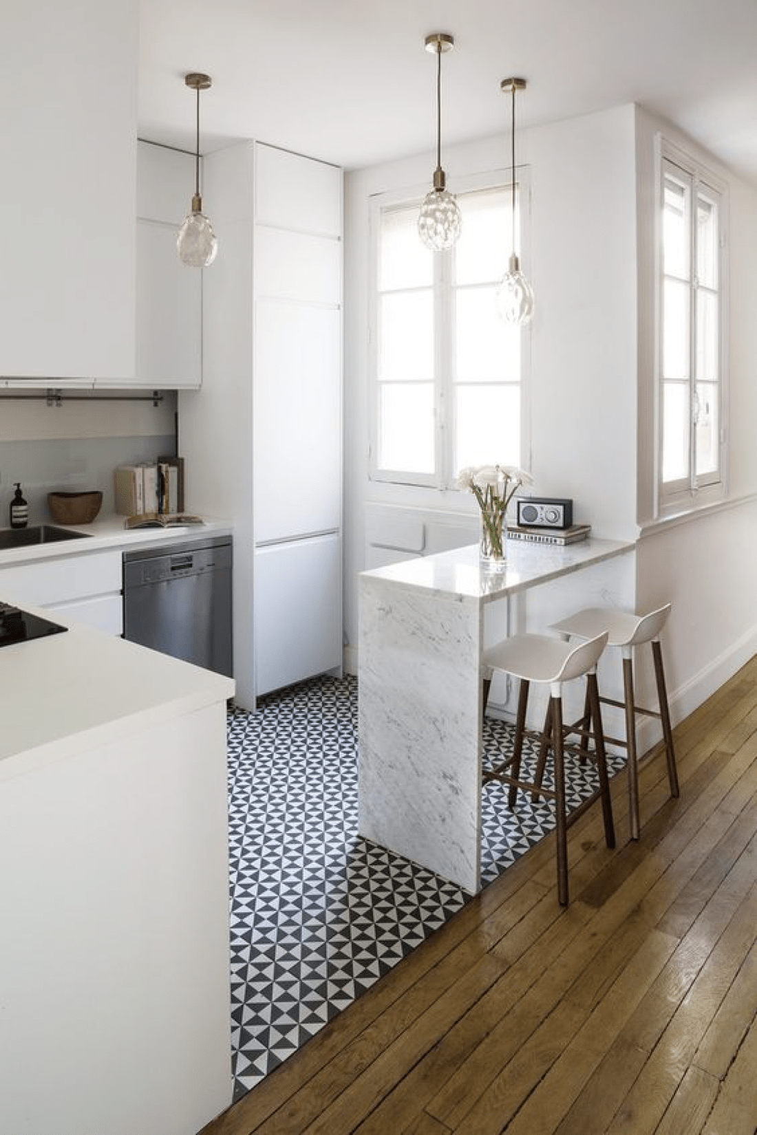 Small Space eat-in kitchen