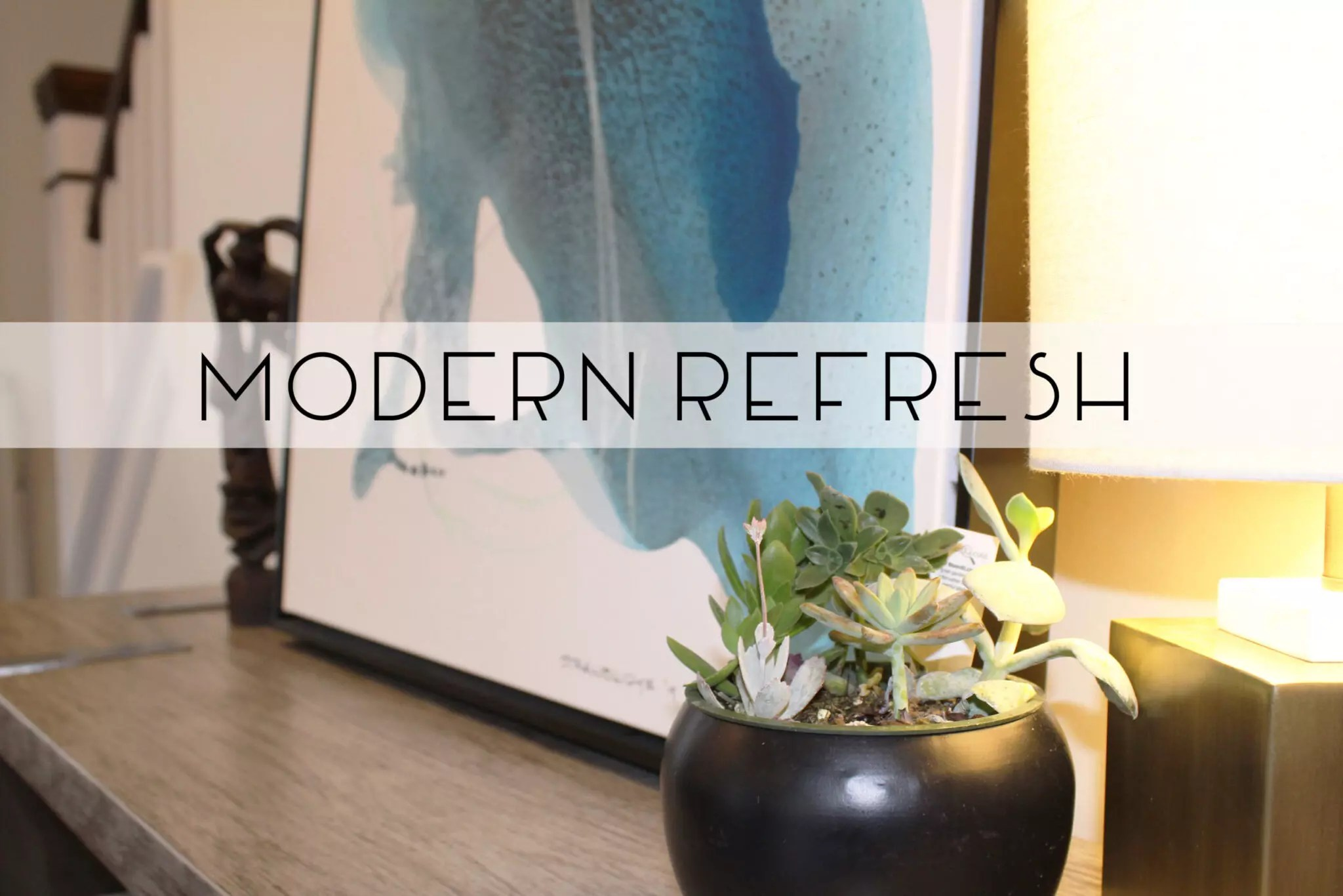 Catherine French Design - Modern Refresh Project