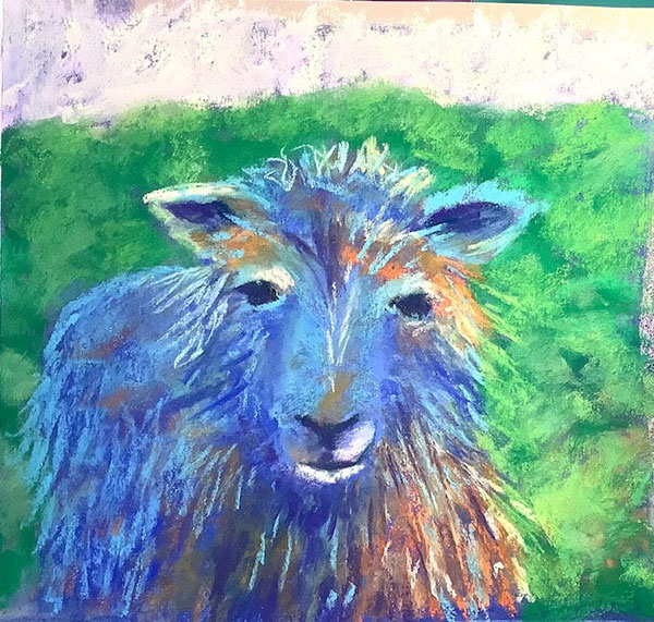 Blue Sheep by Catherine Friend