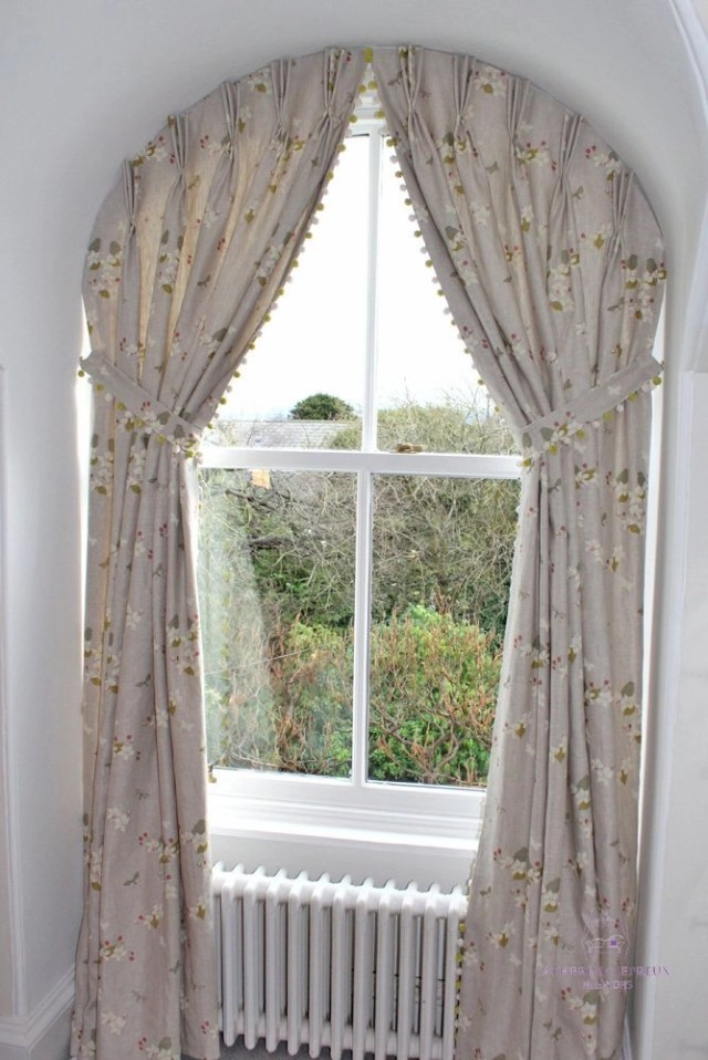 Curtains For Arched Windows In Fife Catherine Lepreux Interiors