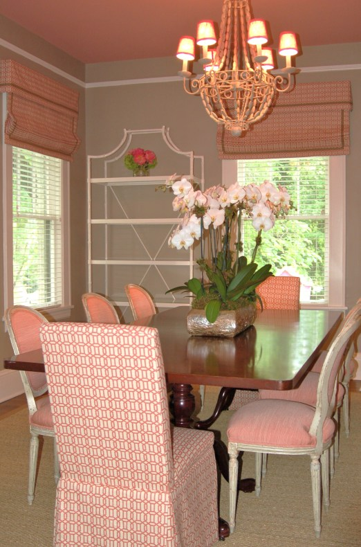 Catherine M. Austin Interior Design/ Pink House Dining Room